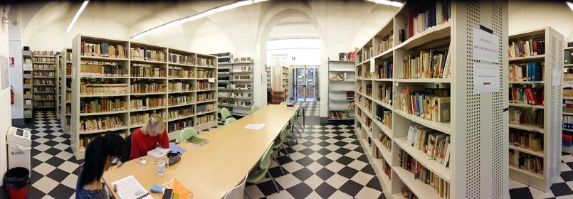 Biblioteca di Lingue e letterature moderne 1