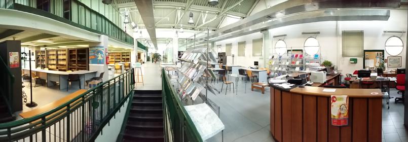 Biblioteca di Matematica, Informatica, Fisica
