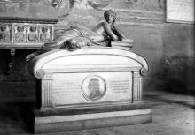 Ottaviano Fabrizio Mossotti, monumento funebre nel Camposanto monumentale di Pisa
