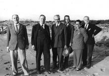San Rossore 1948: Stefanelli, Quartaroli, Avanzi, Tofani, Russo, Magliano