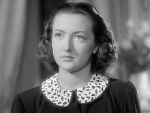 """Michela Beomonte (alias Belmonte) nel film """"I tre aquilotti"""" (1942)"""